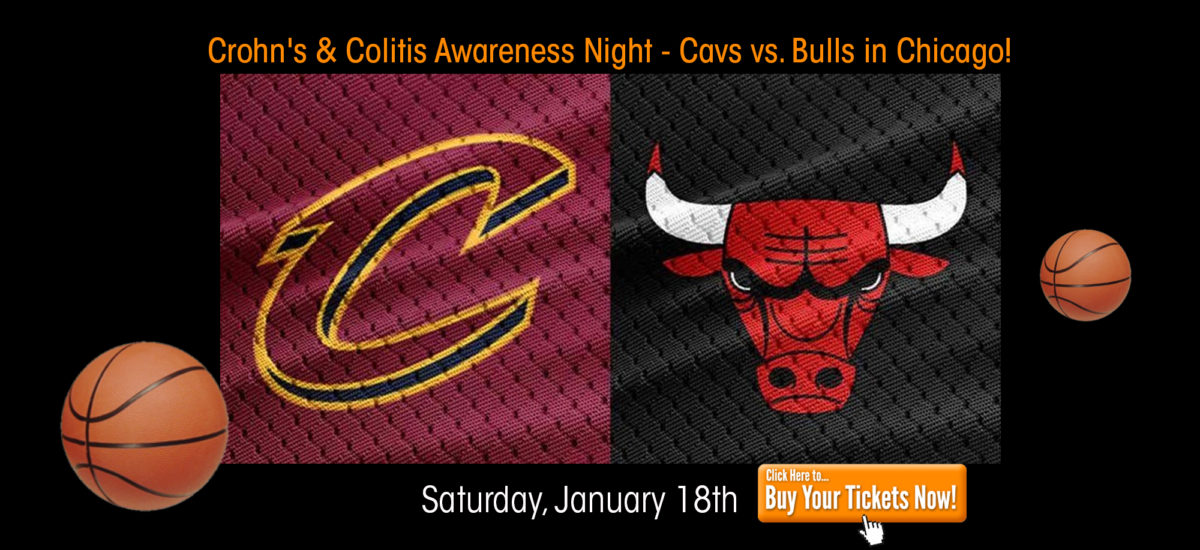 Crohn's & Colitis Awareness Night at Cleveland Cavaliers